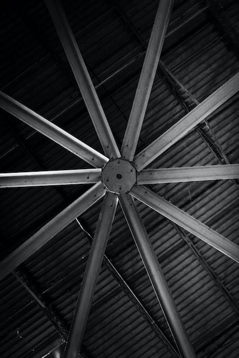 Ventilador Industrial a forma de estrella