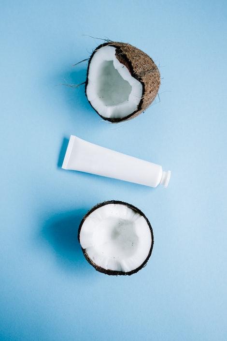 Producto de Aceite de Coco para limpiar los dientes