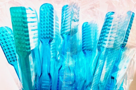 Cepillos de Dientes Azules